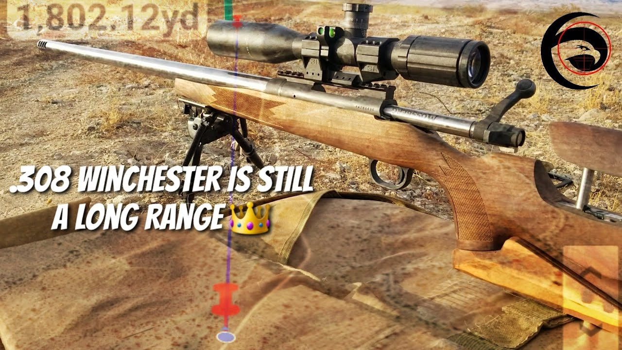 .308 Win is still a 👑King👑 - SHOOTING 1 MILE+!! with 168gr ELD