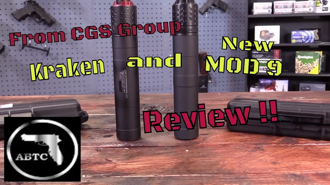 CGS Group New MOD 9 Suppressor Review