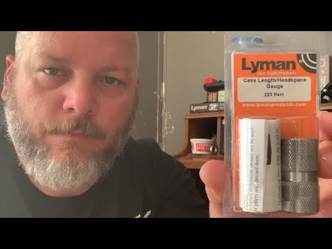 Lyman case length and headspace gauge