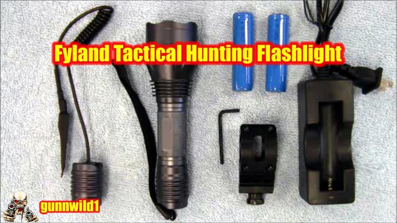 Fyland Tactical Hunting Flashlight