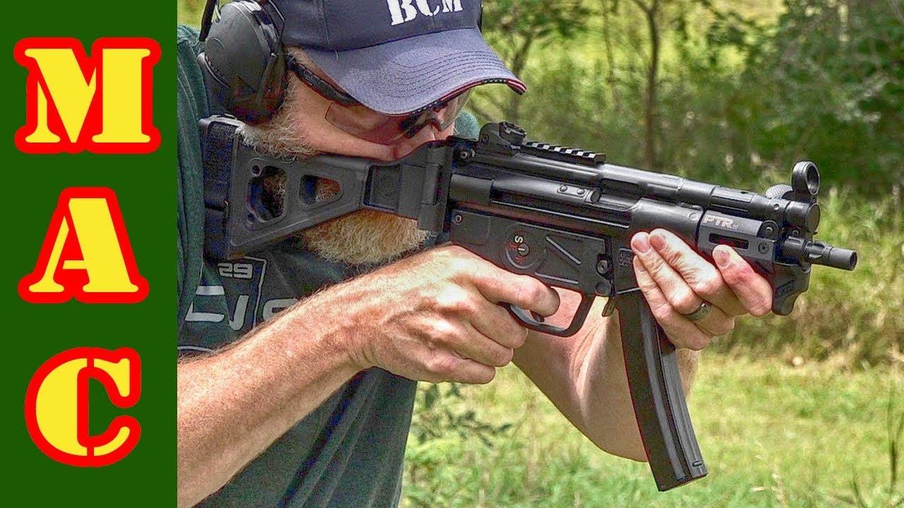 PTR 9kt 9mm pistol - HK MP5K clone