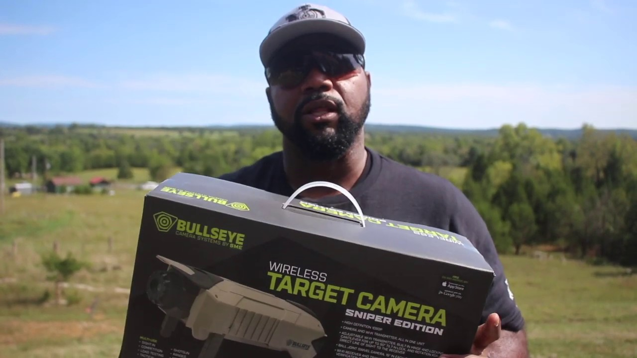 Bullseye Wireless Target Camera (Sniper Edition) by Shooting Made Easy