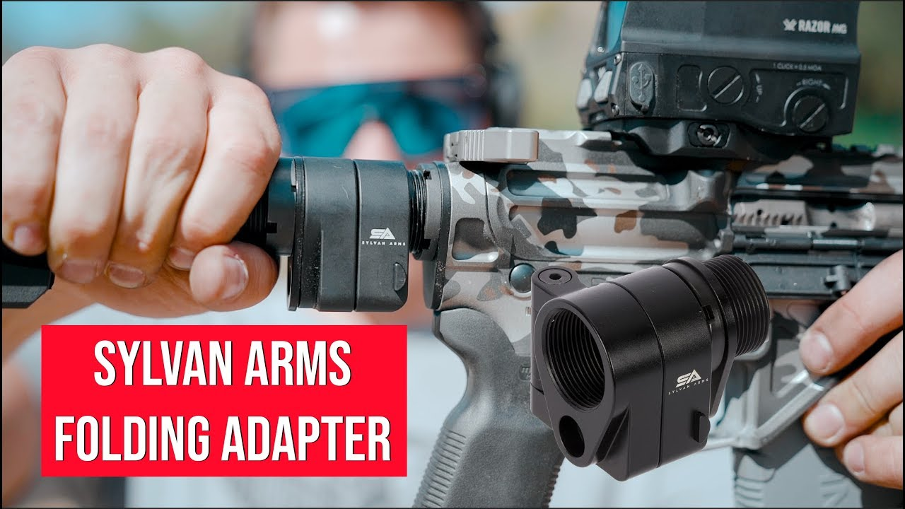 Is the Sylvan Arms AR15 Folding Adapter Bad? // Affordable Folding Ar15 Adapter