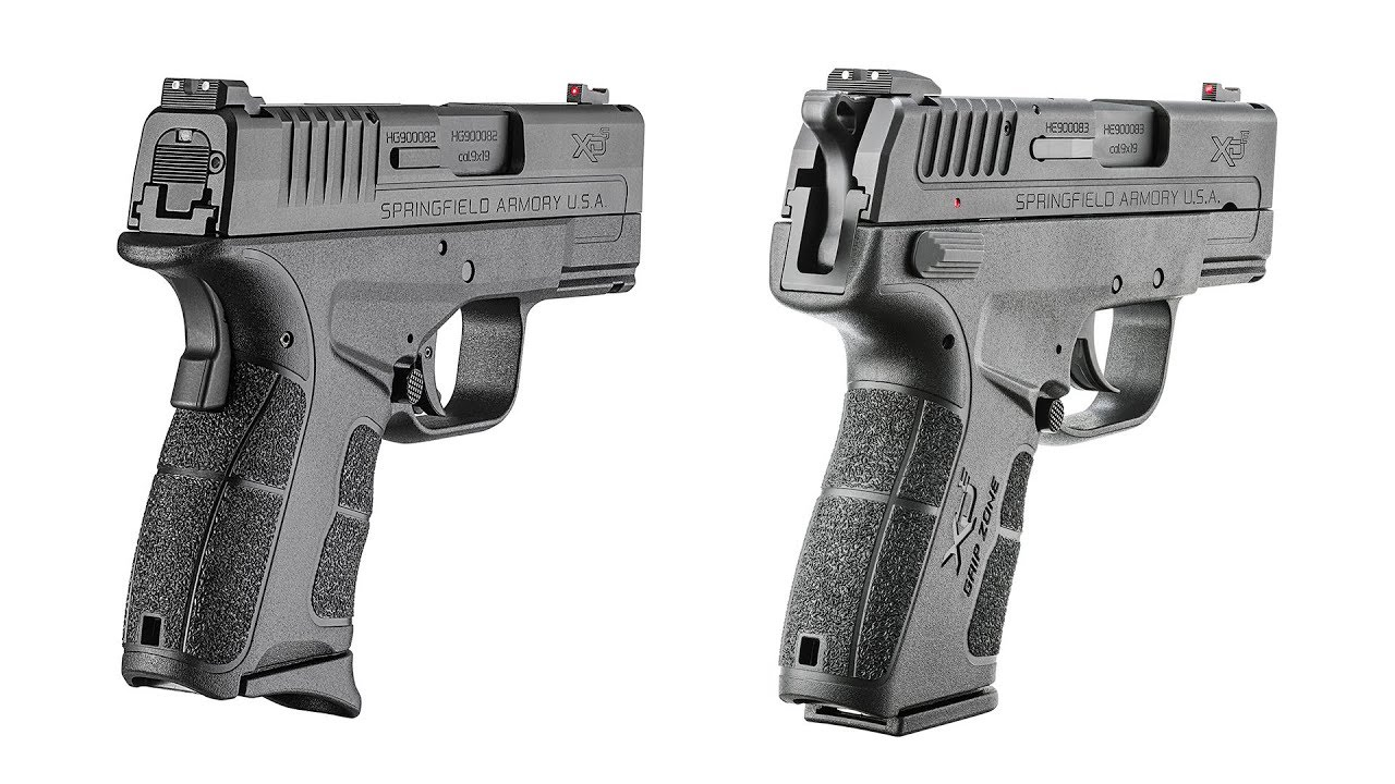 The Battle of the Compact Springfield Armory Polymer Pistols