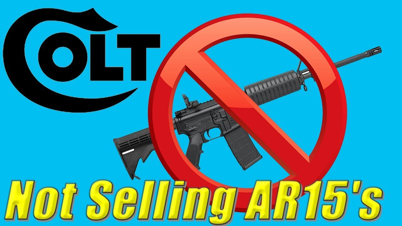 Colt Stops Selling AR15's To Civilians!🤨// Ammoland Breaking News