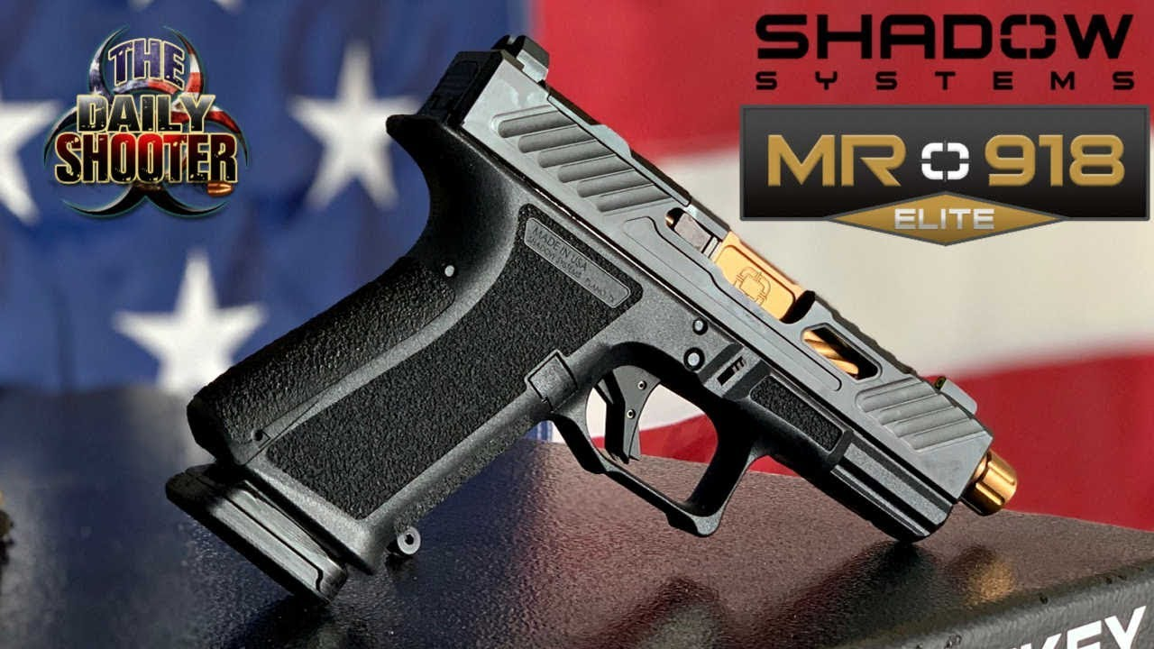 Shadow Systems MR918 Elite First Impressions & Unboxing