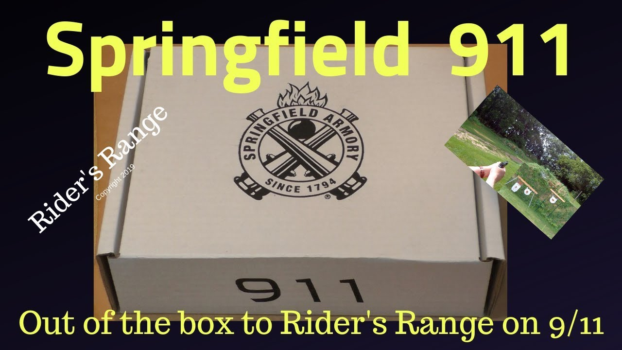 Springfield 911 Out Of The Box on 9/11