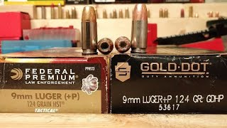9-19-19 HST VS Gold Dot 9x19mm- Which One is BETTER?