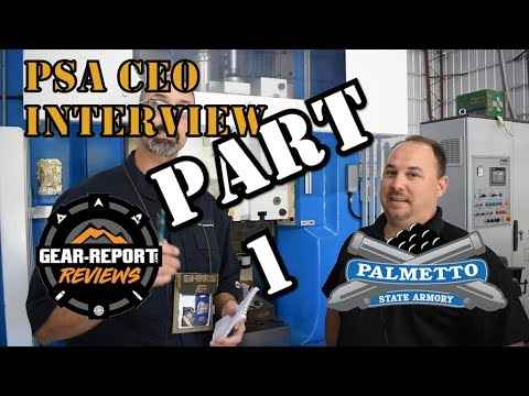 Palmetto State Armory Factory Tour & CEO Interview - Part 1