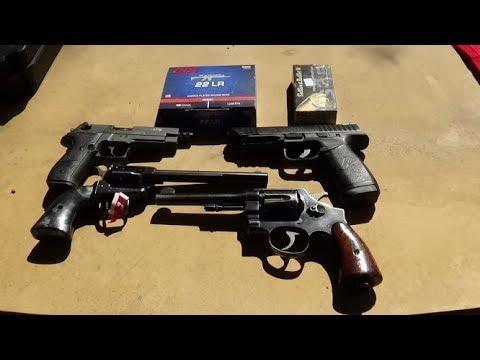 Revolver VS Semi auto on Chrono
