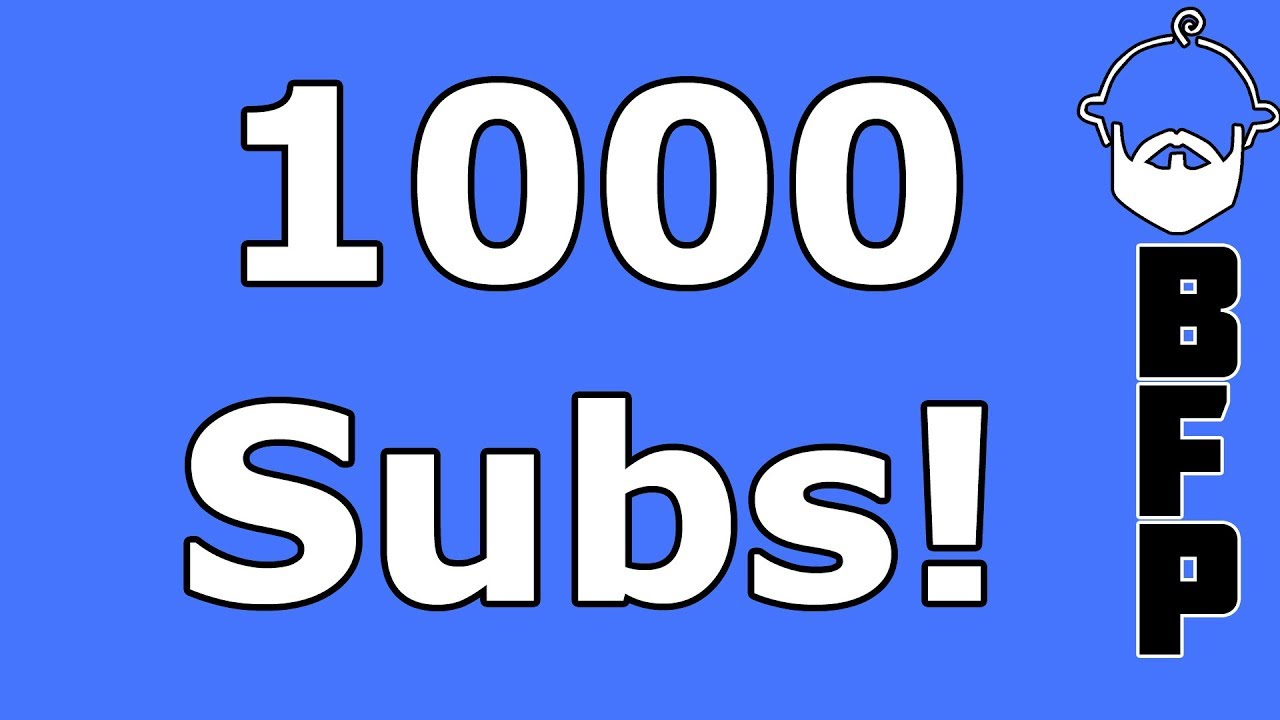 1000 Subs!