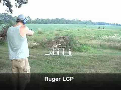 Shooting Ruger LCP