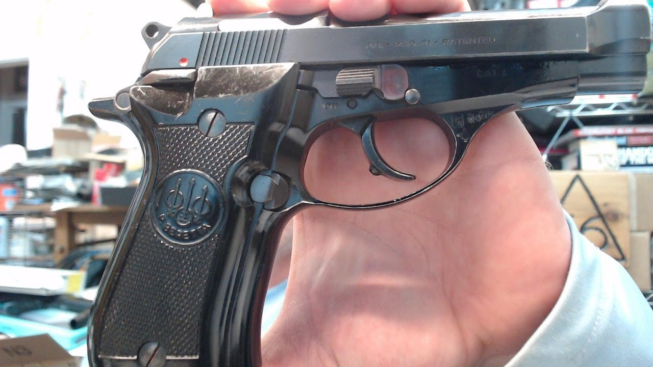Beretta Model 81 Cheetah .32 ACP 7.65 : Initial Review & Thoughts