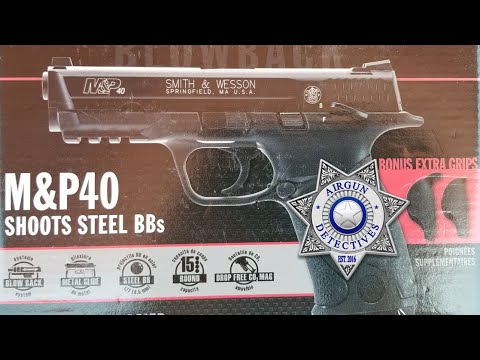 Smith & Wesson M&P 40, .177 Co2 Blowback replica BB pistol