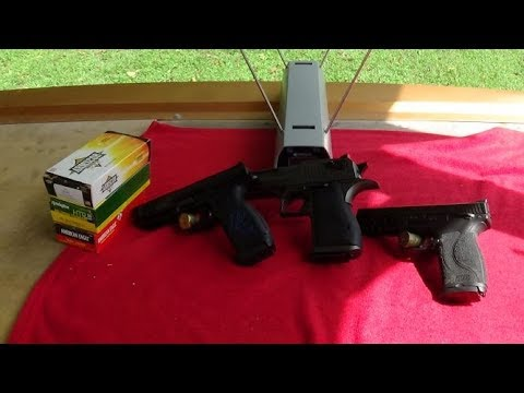 Chrono Revisit 9mm 45 50AE