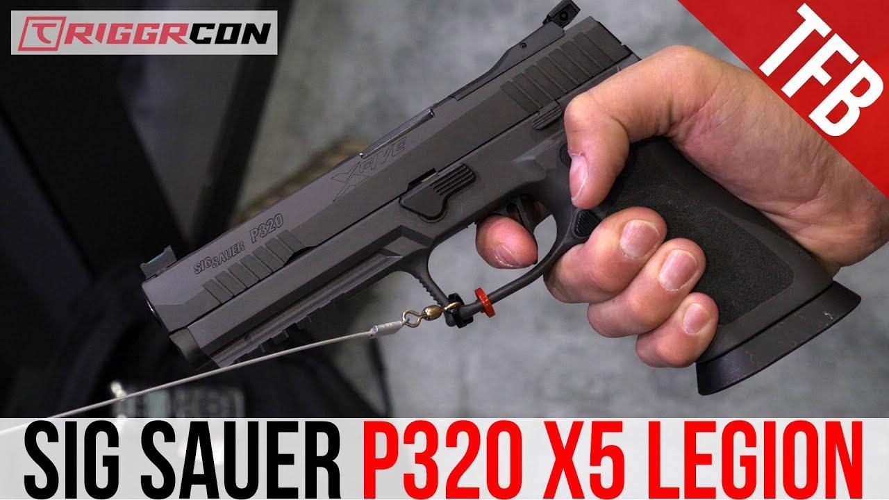 [TriggrCon 2019] SIG Sauer P320 X5 Legion