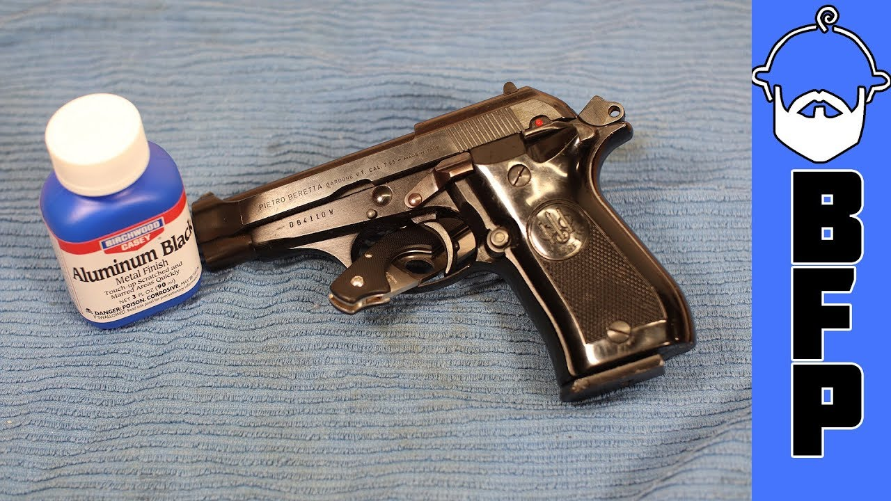 Beretta 81- Hiding Import Marks and Dings