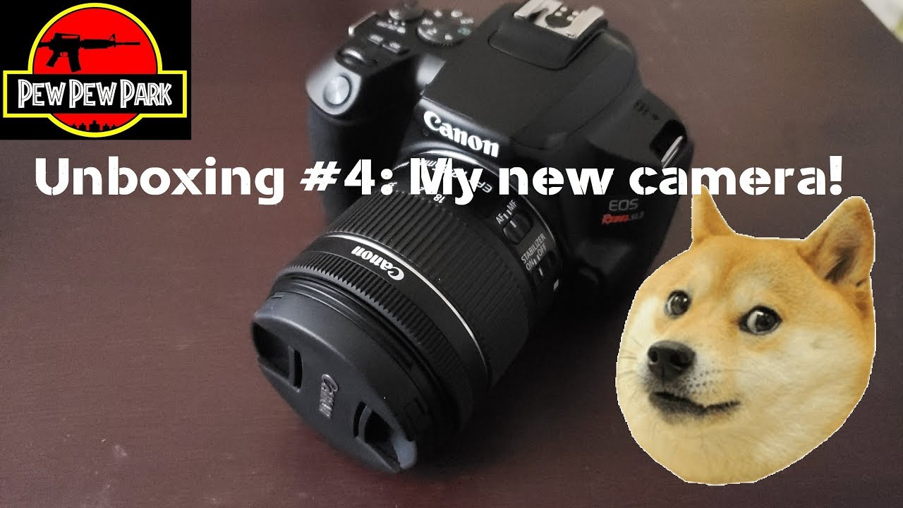 Unboxing #4: My New Camera