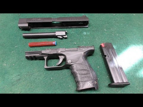 Walther PPQ M2 5-inch Disassembly and Cleaning