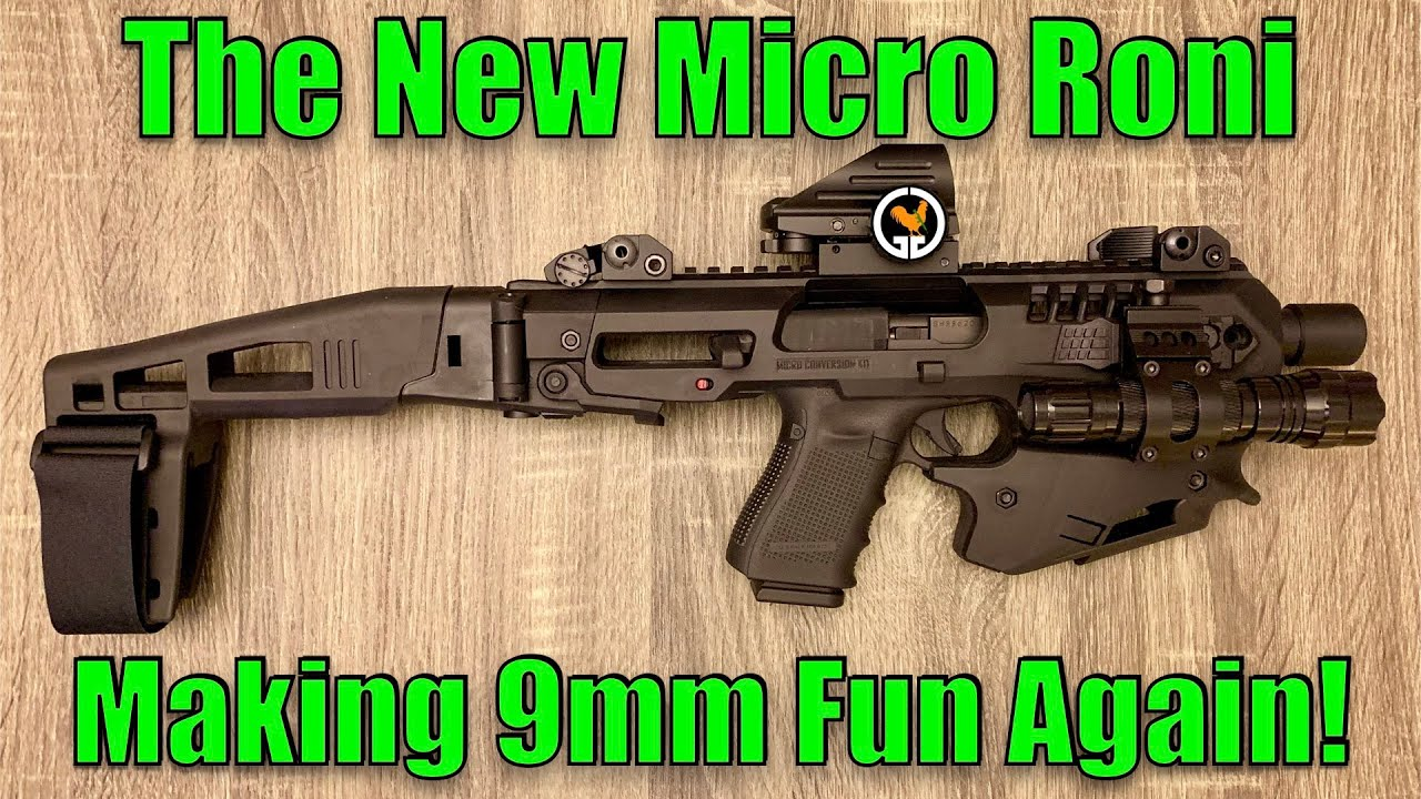 The New Micro Roni - CAA USA Micro Conversion Kit