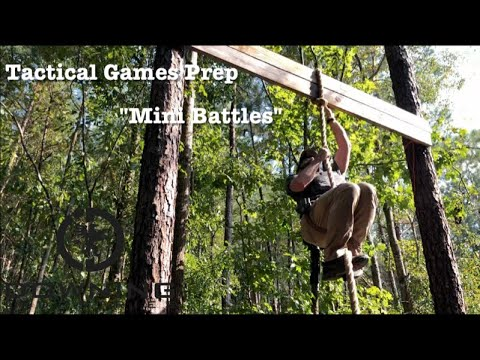 NC Tactical Games Prep -