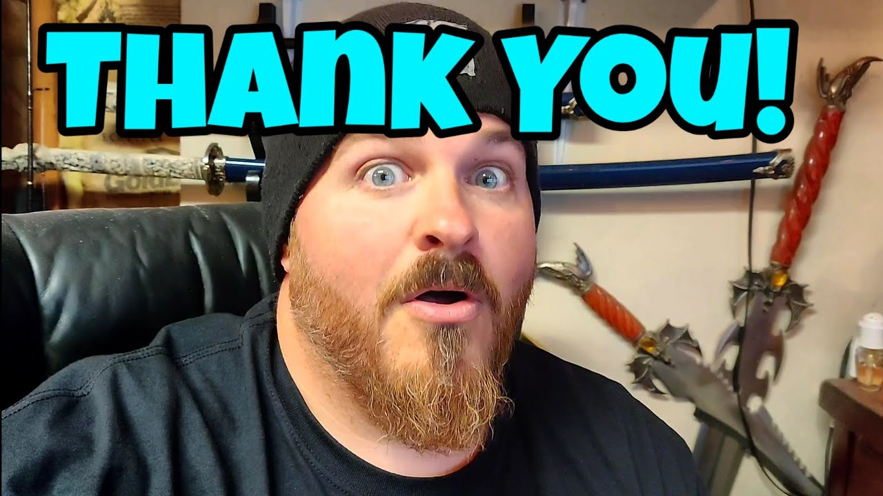 Thank you! Seriously! Please watch and share.