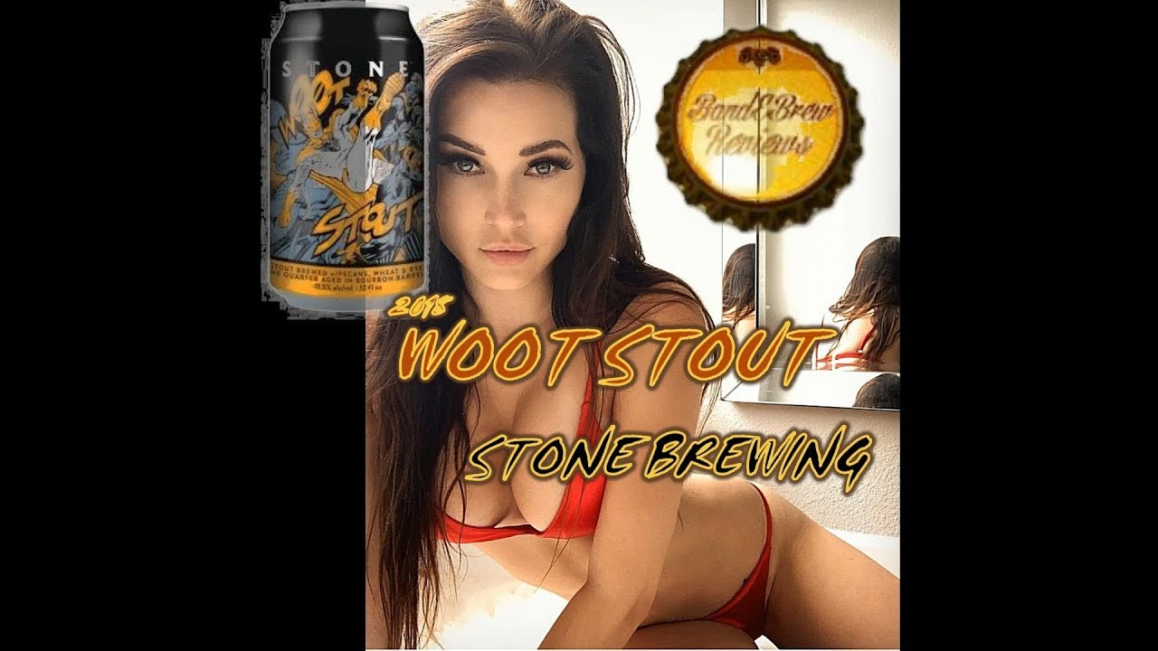 WOOT STOUT from STONE