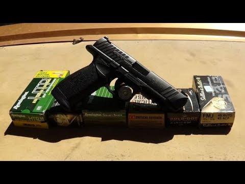 Remington RP45 Test Unedited
