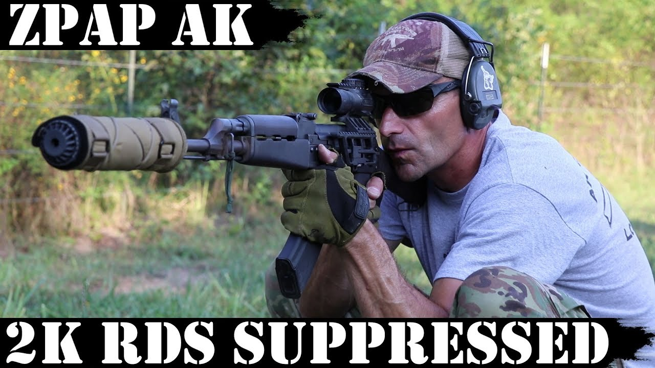 ZPAP AK: 2,000rds Suppressed! Deep Dive!