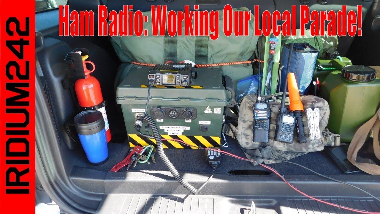 Ham Radio: Working Our Local Parade!