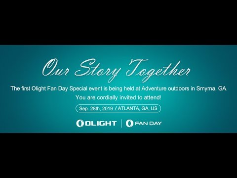 Olight Fan Day Sept 28th at Adventure Outdoors