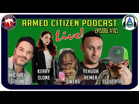 Gun Rights Policy Conference Recap:  The Armed Citizen Podcast LIVE #106