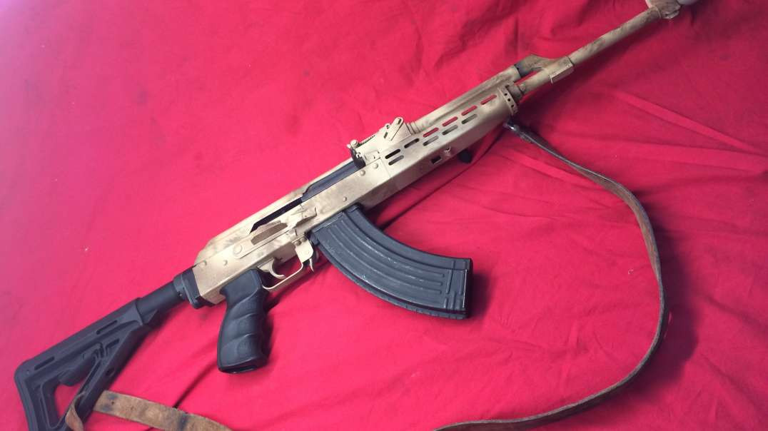 AK47 adjustable gas piston testing.