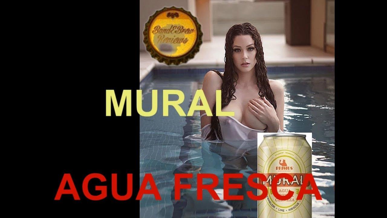MURAL AGUA FRESCA CERVEZA