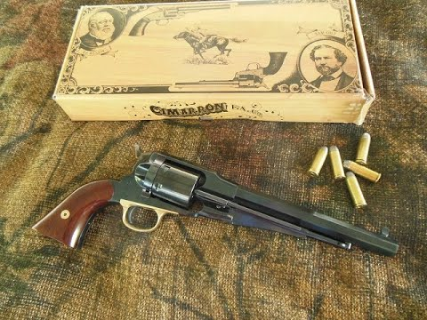 Cimarron 1858 Remington .45 Colt Conversion
