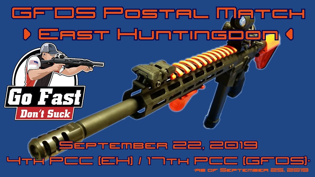 Go Fast Don't Suck Postal Match @ East Huntingdon - PCC - September 22, 2019