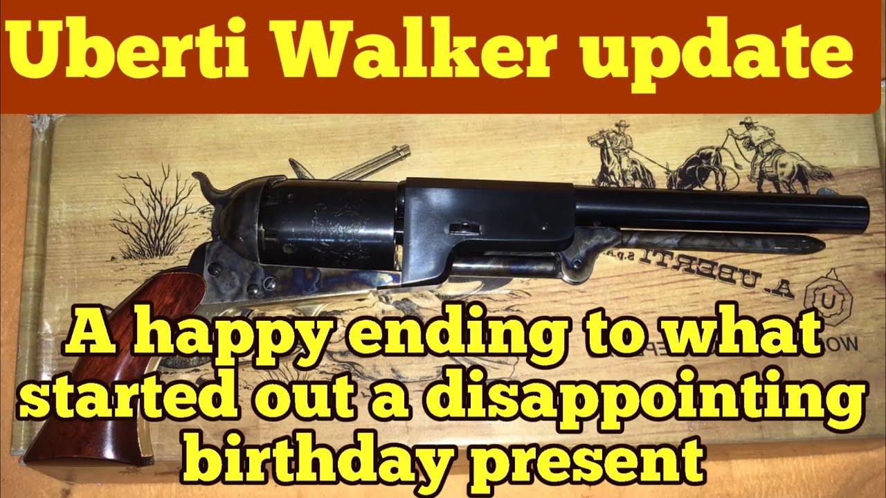 Part 2 Uberti 1847 Walker factory repair update