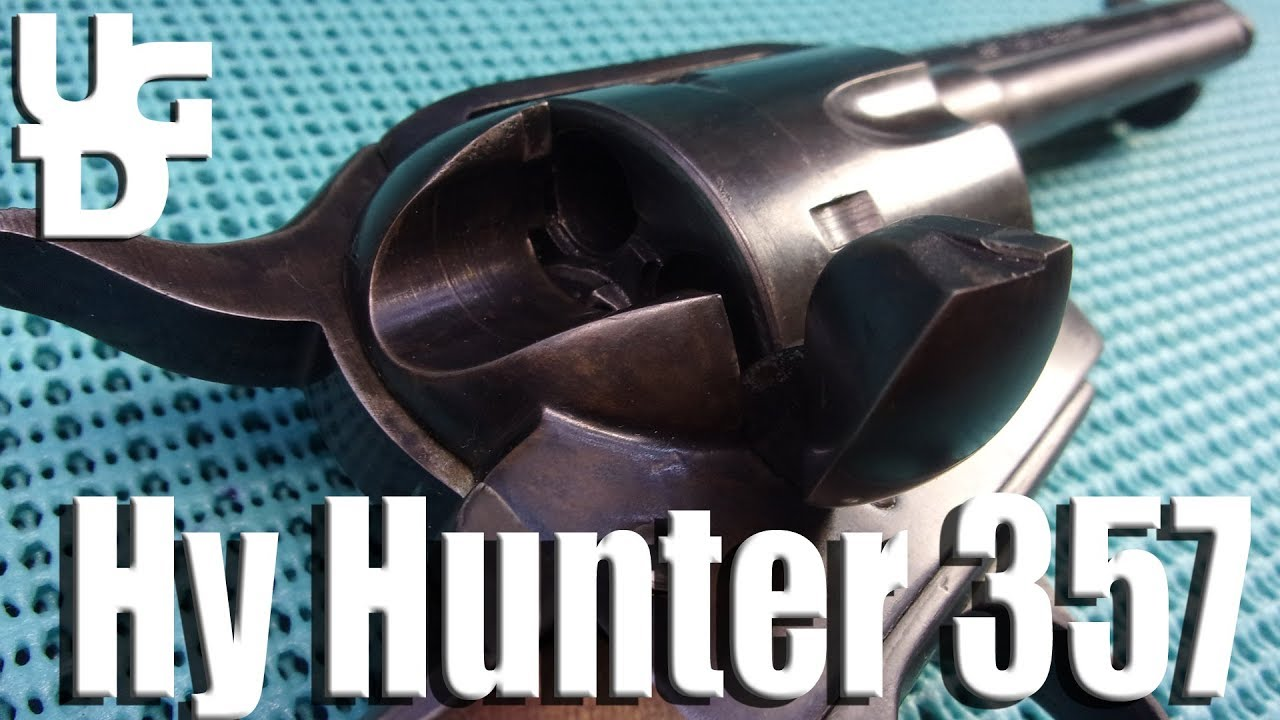 Hy Hunter Frontier Six Shooter in the 357 Mag 1st Look Review