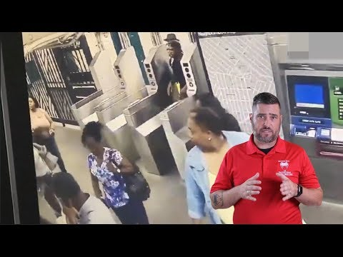 Brutal Subway Altercation Does Not End Well
