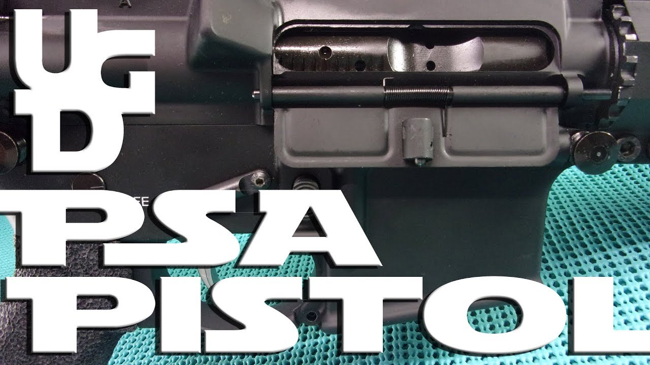 Palmetto State Armory AR Pistol Range Review My E-11 Blaster