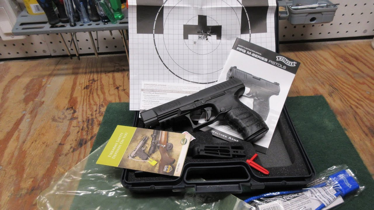 Walther PPQ M2 5 inch (Target Model) Unboxing