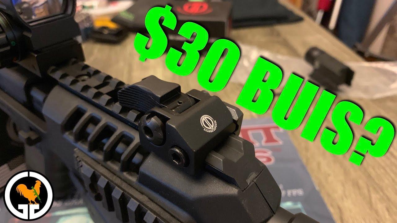 Good budget BUIS?  Dagger Defense Manual BUIS