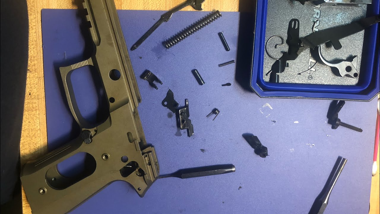 Arex Rex Zero 1 Complete Disassembly/Reassembly Part 2