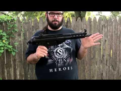 PTR 105 PDWR 308 Battle Pistol Overview