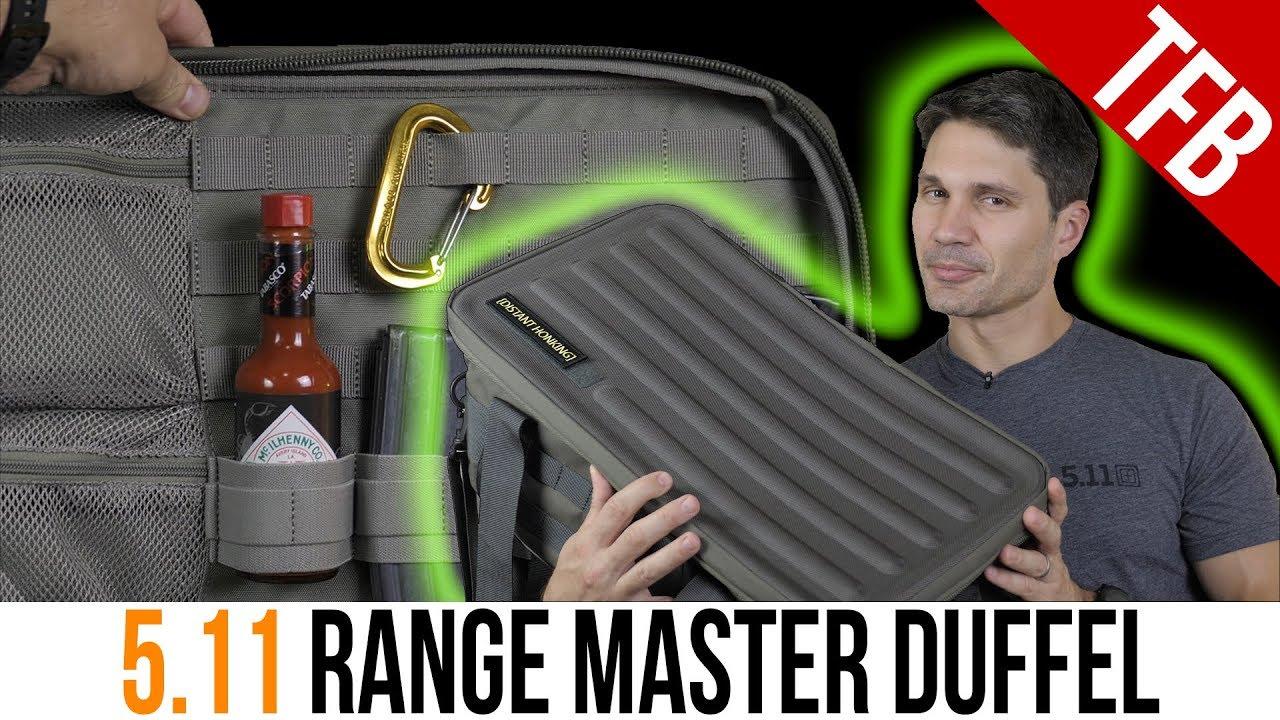 5.11 Tactical Range Master Duffel Overview
