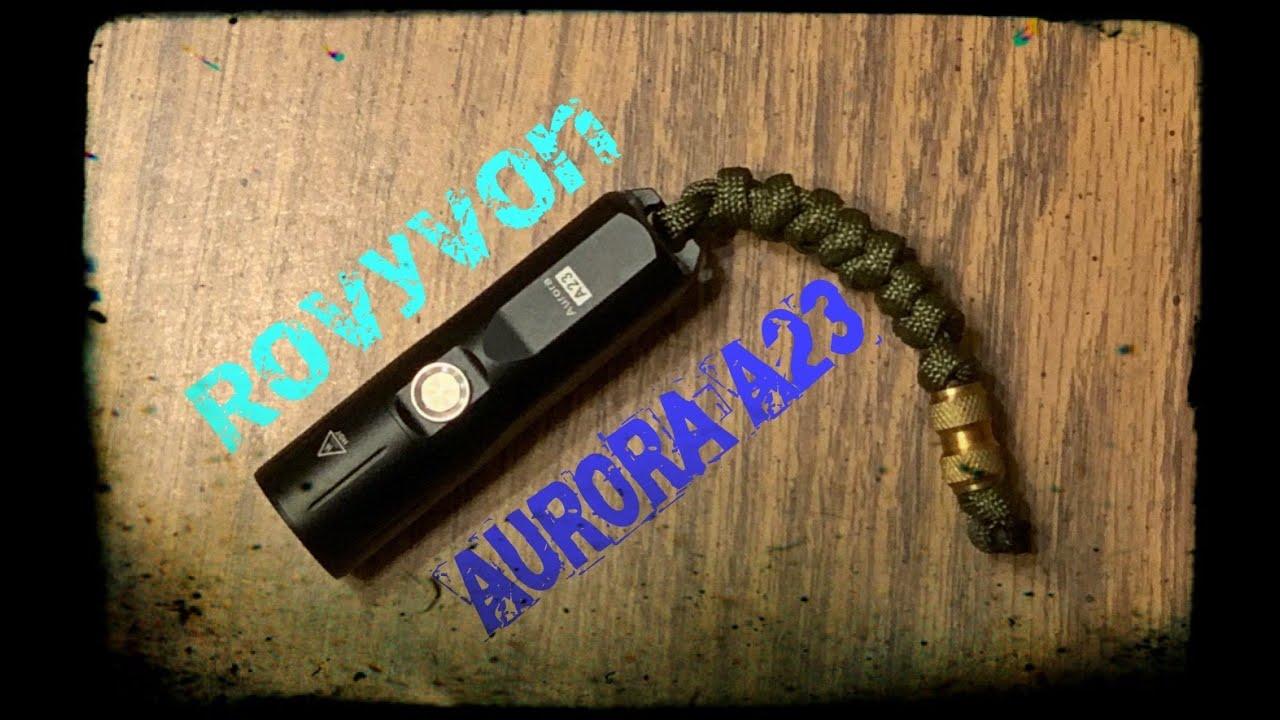 AURORA A23 flashlight | Rovyvon