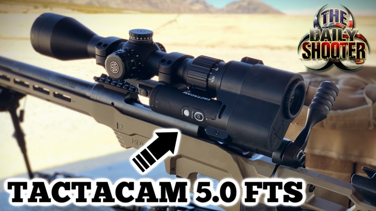 Tactacam 5.0 FTS (Film Through Scope) Review 4k Scope Camera