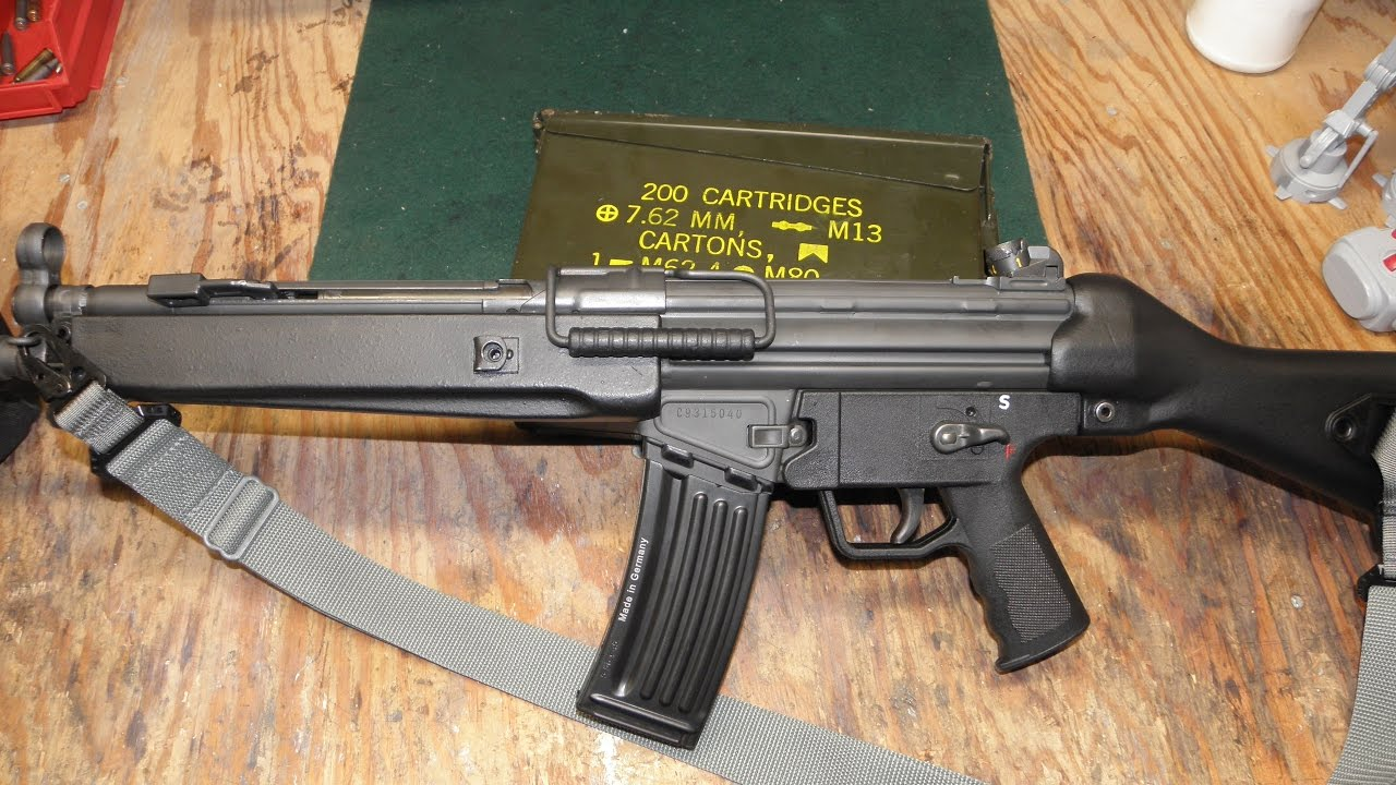 New Factory (expensive) H&K 93 Magazine at the Range