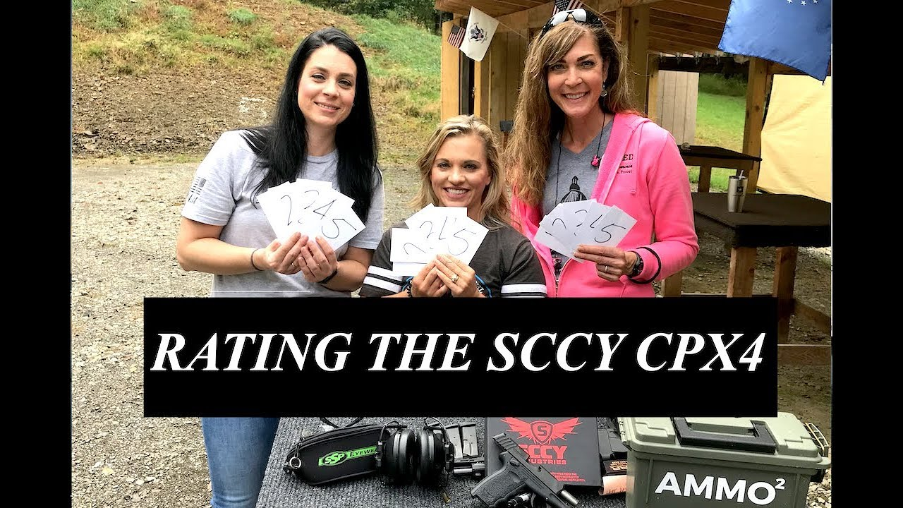 REVIEW SCCY CPX4 - ARMED AND FEMININE