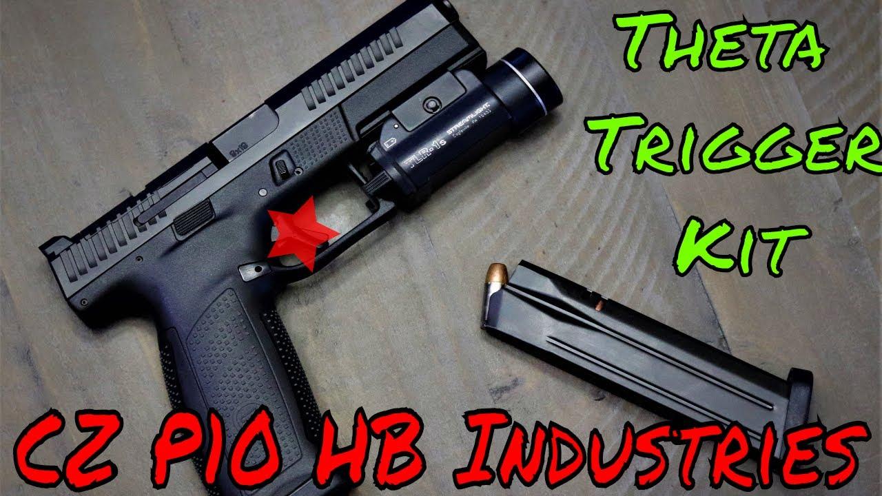 HBI CZ P10 Trigger Absolute Range Hammer!